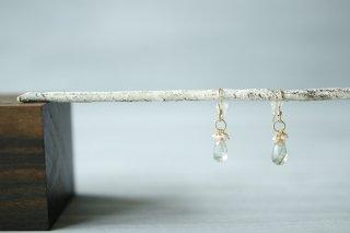 pierce「garden-actinolite/pearl-」