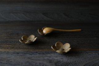 梅型 豆皿(スプーン置き)