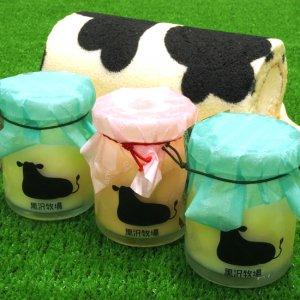 牛柄ミルクロールとプリン3個セット
