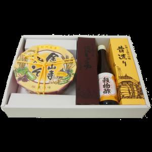 醤油・穀物酢・金山寺味噌ギフトセット