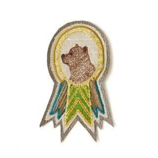 Coral&Tusk / bear badge ブローチ