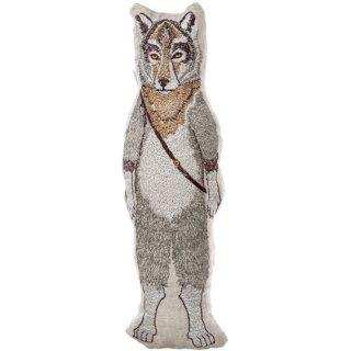 Coral&Tusk / wolf pocket doll