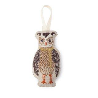 Coral&Tusk / ornament /Tree trimmer owl クリスマスオーナメント