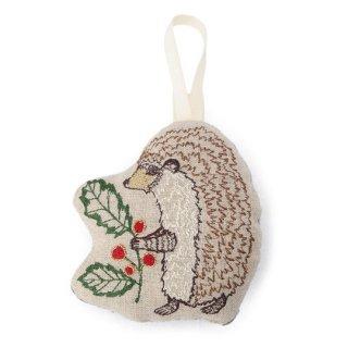 Coral&Tusk / ornament /holly hedgehog クリスマスオーナメント