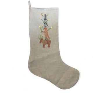 Coral&Tusk /Large stockings holiday / animal tree クリスマスソックス