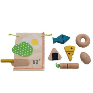 gg* [ジジ] / mamagoto [ママゴト] 木のおもちゃ 木製玩具 おままごとセット 日本製