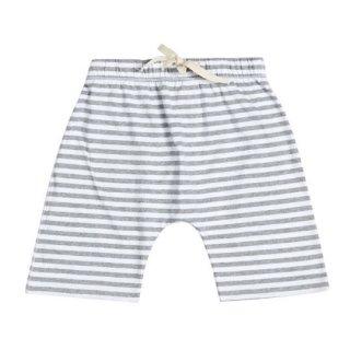【50%OFF!】Gray Label / Shorts / Grey Melange/ White Stripe