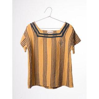 【50%OFF!】BOBO CHOSES / Striped Sailor Shirt Legend/KIDS