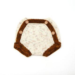 KalinkaKids / Boyana shorts/ Natural/Rust