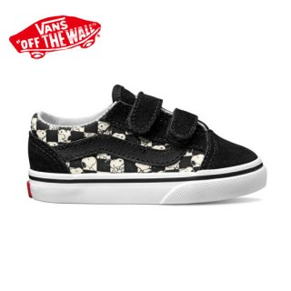 Vans x Peanuts OLD SKOOL V (PEANUTS) SNOOPY /CHECKERBOARD SNOOPY