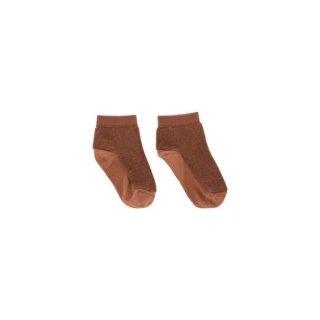 【50%OFF!】tinycottons / fluffy socks / brick