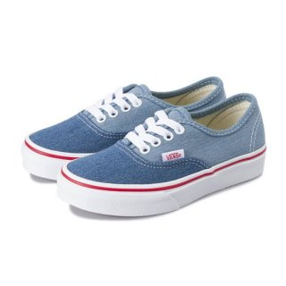 Vans Authentic / (Denim 2-Tone) blue/true white / kids