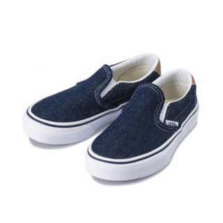 Vans Slip-On 59 /(DENIM C&L) D.Blue / Chipmunk / Kids