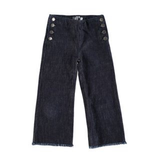 【50%OFF!】tocoto vintage [トコトヴィンテージ] / W10118. DENIM PANTS BELL BUTTONS / 003. BLUE