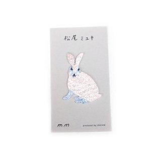 松尾ミユキ / Applique アップリケ / Rabbit