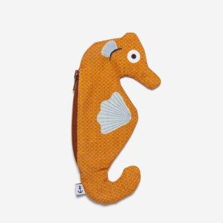DON FISHER - Seahorse Orange  - Keychain