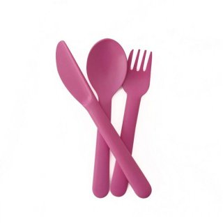 EKOBO / Cutlery Set - BIOBU - rose