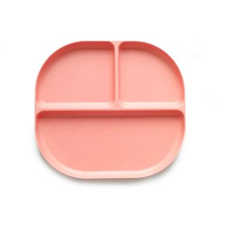 EKOBO / Divided Plate - BIOBU - Coral