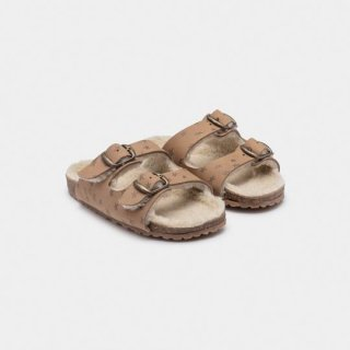 【40%OFF!】BOBO CHOSES / STARS SHEEPSKIN SANDALS / Baby&Kid