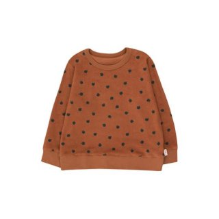 【50%OFF!】TINYCOTTONS / SMALL APPLES SWEATSHIRT / brown/bottle green