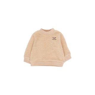 【50%OFF!】TINYCOTTONS / YOU ARE LUCKY SWEATSHIRT / sand/aubergine