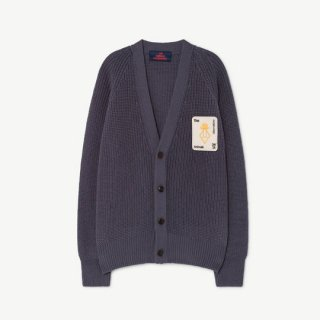 【50%OFF!】The Animals Observatory / PLAIN RACOON KIDS CARDIGAN / 1237