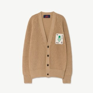 【50%OFF!】The Animals Observatory / PLAIN RACOON KIDS CARDIGAN / 1236