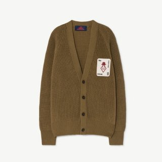 【50%OFF!】The Animals Observatory / PLAIN RACOON KIDS CARDIGAN / 1235