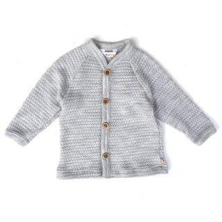Joha / Bubble Knitting Cardigan / grey
