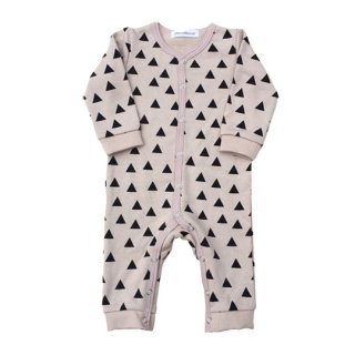 chocolatesoup / GEOMETRY SWEAT ROMPERS /TRIANGLE