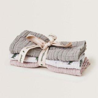 【再入荷】garbo&friends / Rosemary Burp Cloths  3set