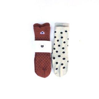 【再入荷】Audrey Jeanne / Socks / Drowsy bear 2P