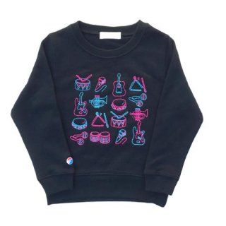 Soulsmania / MUSIC INSTRUMENTS SWEAT CREW / black