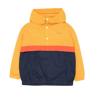 【40%OFF!】TINYCOTTONS / COLOR BLOCK PULLOVER / yellow/light navy / Kids