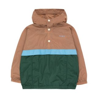 【40%OFF!】TINYCOTTONS / COLOR BLOCK PULLOVER / tan/olive dark green / Kids