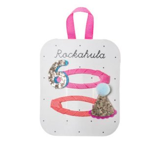 Rockahula kids / Birthday Glitter Clips / 6 7 8
