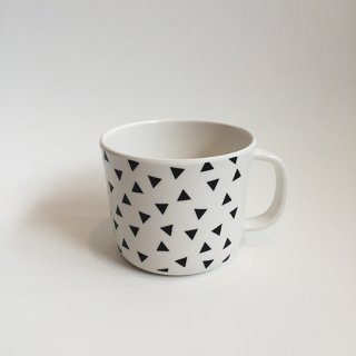 chocolatesoup / GEOMETRY MELAMINE MUG CUP / TRIANGLE