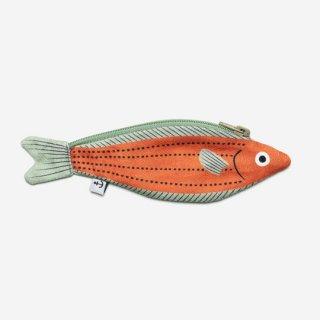 DON FISHER / Madagascar - Orange Fusilier - KEYCHAIN