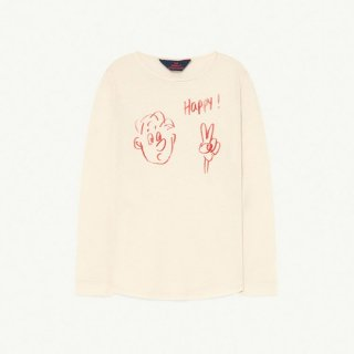 【30%OFF!】The Animals Observatory / CRICKET KIDS T-SHIRT / 1093