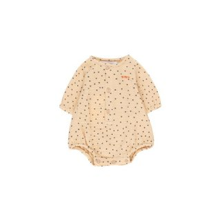 "【30%OFF!】TINYCOTTONS / ""TINY DOTS"" BODY / cappuccino/navy / Baby"