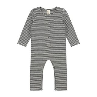 Gray Label / Baby L/S Playsuit / NearlyBlack&Cream / baby