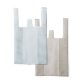 amabro / CONVENI BAG / White × Gray