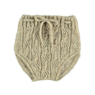 【40%OFF!】tocoto vintage / Open-work ribbed knit bloomer / BEIGE