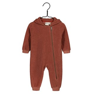 【40%OFF!】MAINIO CLOTHING / Terry jumpsuit / russet