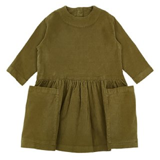 AS WE GROW / POCKET DRESS / Olive