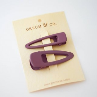 GRECH & Co. / Matte Clips Set of 2 / burlwood