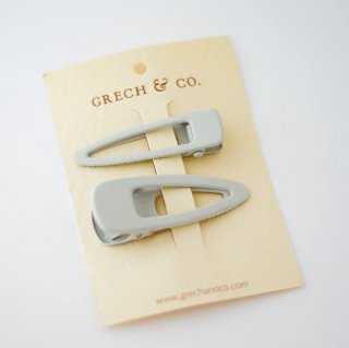 GRECH & Co. / Matte Clips Set of 2 / buff