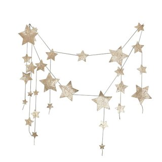 Numero74 / Falling Star Garland / Gold