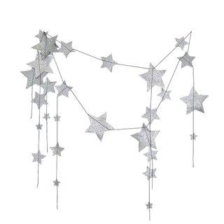 Numero74 / Falling Star Garland / Silver