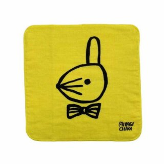 山鳩舎 / hand towel / Rabbit / YE